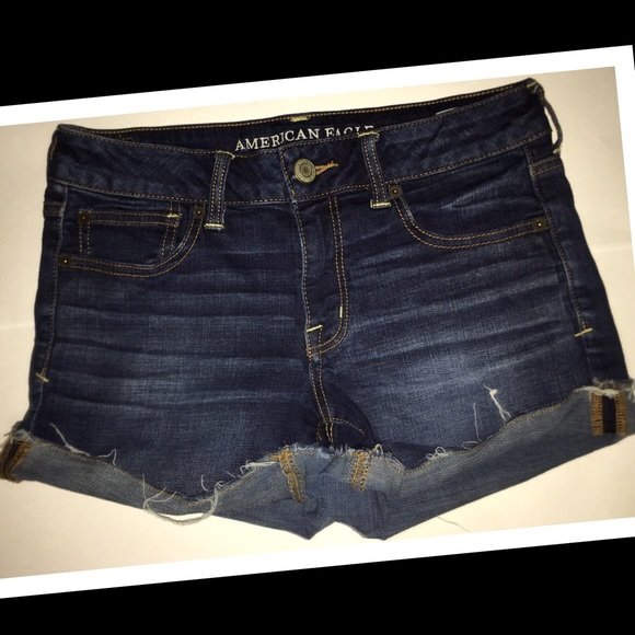 American Eagle Outfitters Pants - American Eagle women's denim short-shorts☀️EUC☀️